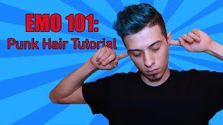 Emo/Punk Hair Tutorial