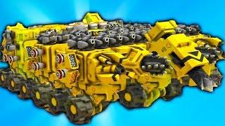 TerraTech #7 Игровой мультик про машинки боевые как лего конструктор мульфильм про танки и самолеты(Боевые кубические машинки мультик игра для детей, собираем машину из кубиков как в мультфильме про констру..., 2016-10-15T11:30:00.000Z)