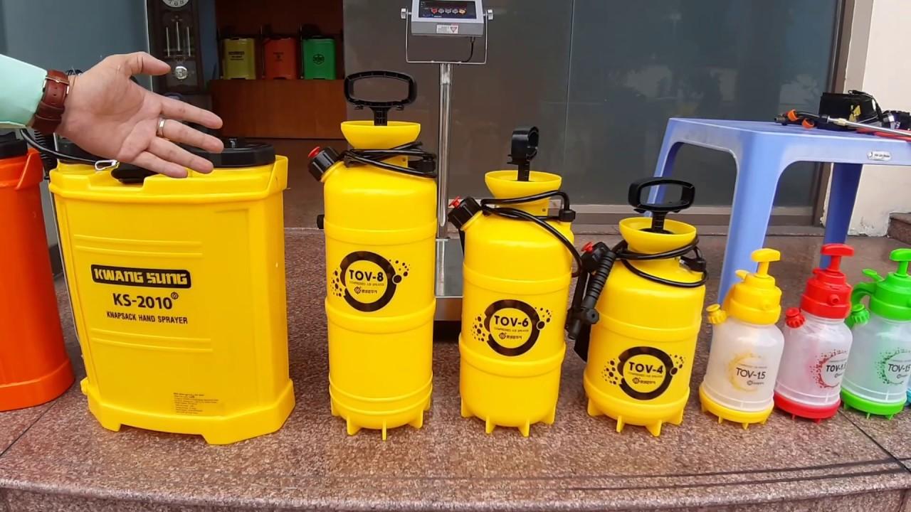 Bình phun thuốc trừ sâu bằng điện Kwang Sung Hàn Quốc áp suất