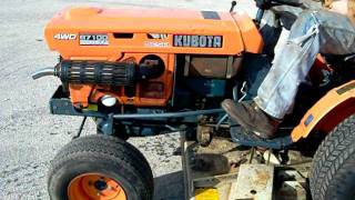 Kubota HST-D video - FOR SALE ON EBAY, UNDER NEEWOLLAH_INC.
