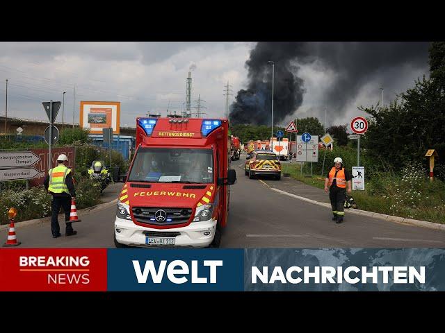 SCHWERE EXPLOSION in LEVERKUSEN: 31 Verletzte, ein Toter - Leichte Entwarnung | WELT Newsstream