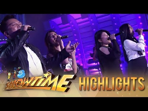 Ato, Aila and Bukang Liwayway team up for a powerful performance | It's Showtime