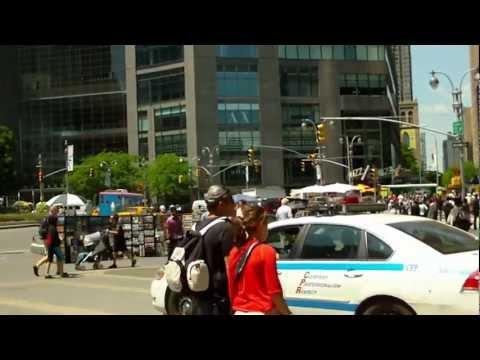 New York Citi Broadway & Columbus Av - USA