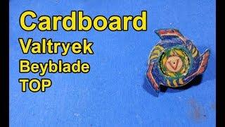 Cardboard Valtryek Top Making | Make full Cardboard Valtryek Beyblade Top