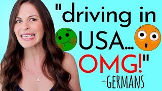 German Friends SHOCKED by Driving in USA!!