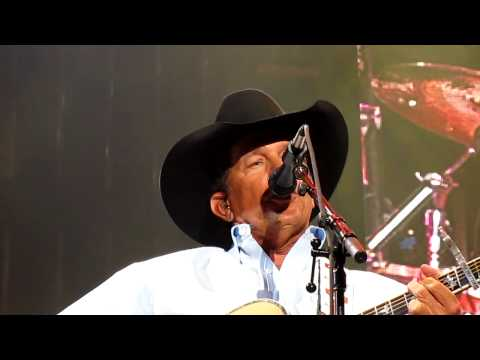George Strait, from the Alamo Dome: