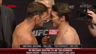 TUF Nations Finale: Official Weigh-In