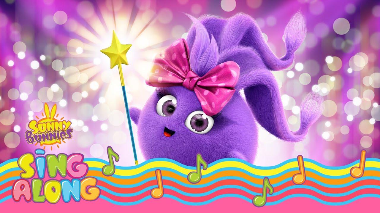 SUNNY BUNNIES - Iris Loves Her Magic Wand | BRAND NEW - SING ALONG | Cartoons for Children