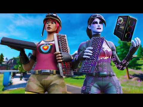 Keyboard And Mouse On Console Vs Pc | Fortnite