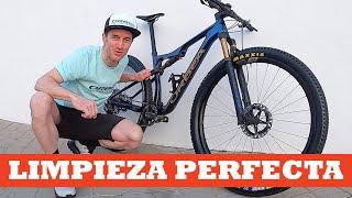 Método Zugasti para limpiar la bici y dejarla como nueva | Ibon Zugasti