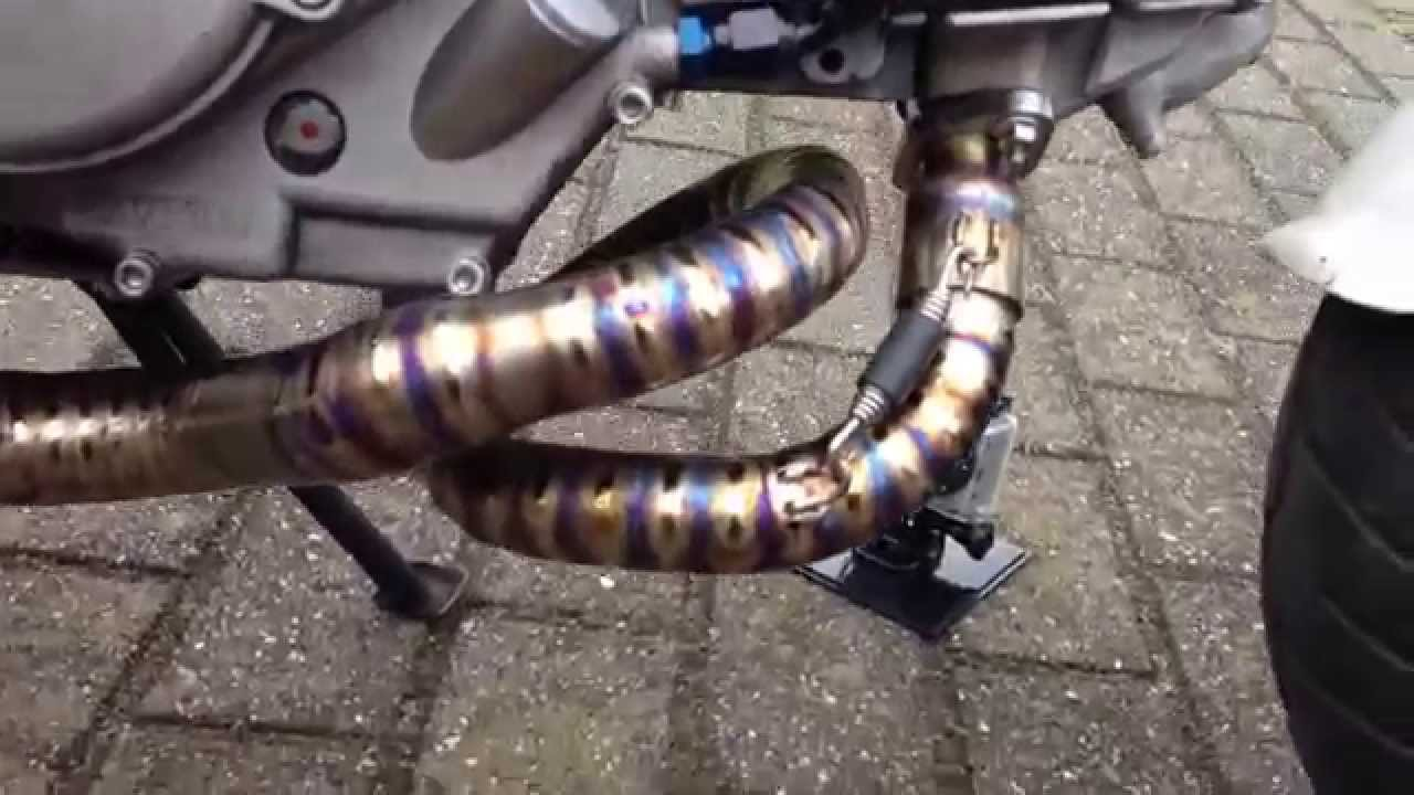 Nelson Welding Custom Titanium Exhaust Youtube