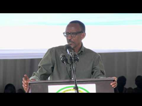 President Kagame visits Gakenke District, 24 March 2016 Part 1/2