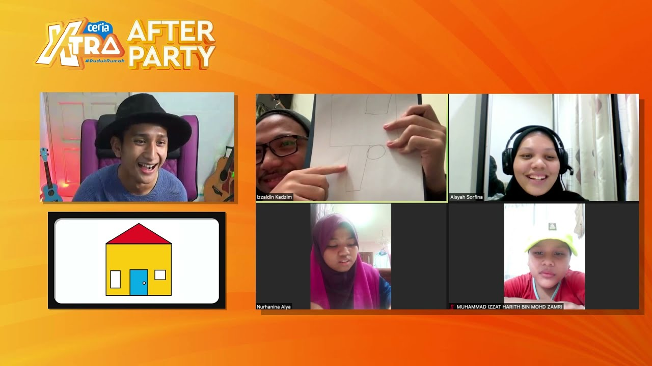 Astro Ceria Xtra #DudukRumah After Party Minggu 2 bersama Wafiy