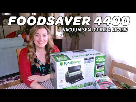 Foodsaver 4400 Vacuum Sealer Demo Video & Review from a Sous Vide enthusiast