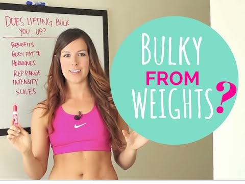 Will Lifting Heavy Weights Make You Bigger? | Weight Lifting for Beginners & Women