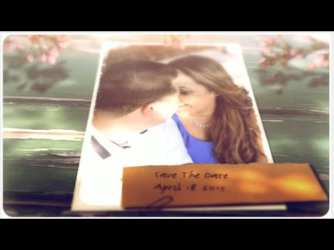 Rustic Wedding Save The Date Video YouTube – Wedding Save the Date Video