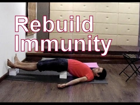 Yoga for HIV/AIDS - Rebuild Your Immune System | Easy Yoga Therapy