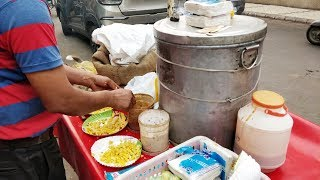 CHATPATA SWEETCORN IN DELHI MARKET | INDIAN STREET FOOD