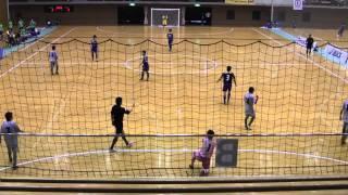 三重県選抜(グレー) VS 北海道選抜(青)後半 2013年第29回全国選抜フットサル