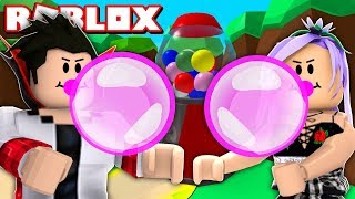 FIZ O MAIOR CHICLETE DO ROBLOX no Bubble Gum Simulator Roblox