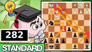 Busting a Poor Sport & Rating Abuser | Standard Chess #282 (Sicilian Defense)