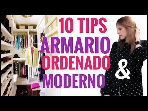 10 Tips Para Organizar Un Closet Moderno-Chic 2018