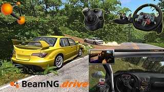 BeamNG Drive Max Settings with Logitech G29 Driving Force Racing Wheel 60FPS