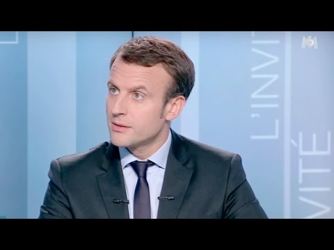 Interview d'Emmanuel Macron sur M6