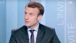 Interview d'Emmanuel Macron sur M6