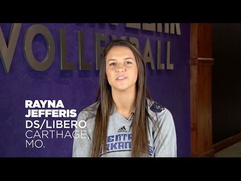 Volleyball: Meet Rayna Jefferis