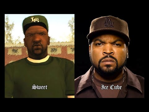 Characters and Voice Actors - Grand Theft Auto: San And ...
