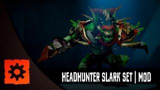 Dota 2 set: Headhunter Slark, Unofficial mod