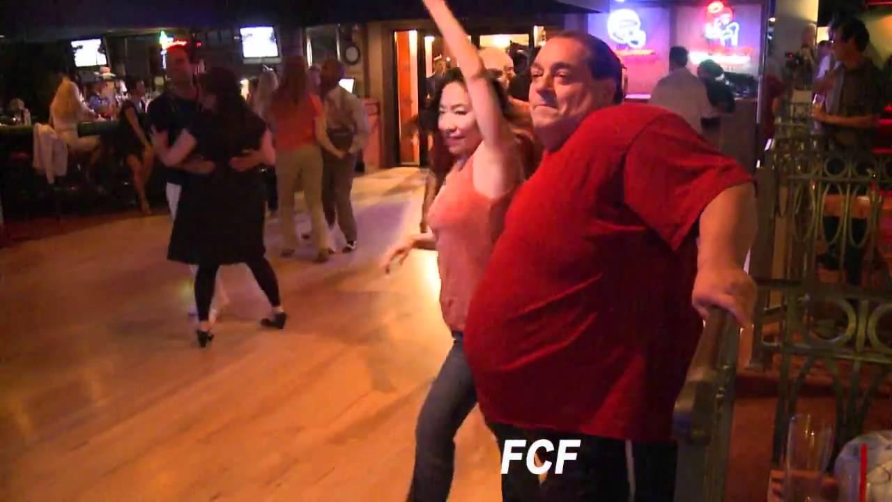 Disco Dave Sarul celebrates his birthday dancing hustle at the Hacienda on  April 27, 2011
