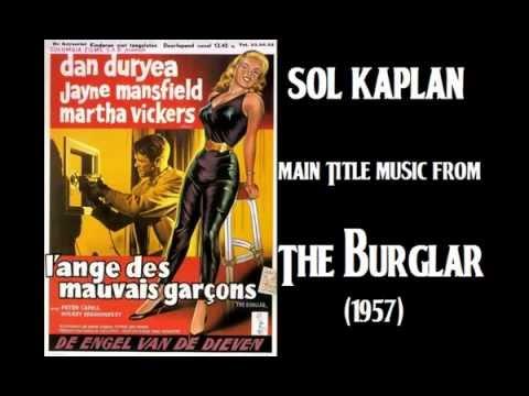 Sol Kaplan: music from The Burglar 1957 Film Noir