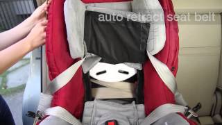 Orbit How: Installing the Toddler Car Seat G2/G3 forward-facing with Lap-Shoulder Belts