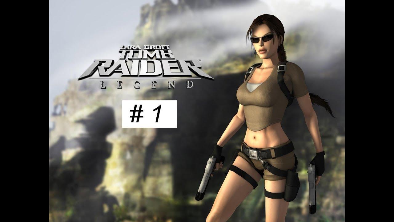 Tomb Raider Legend Gameplay Full Game Walkthrough Part 1 Xbox 360