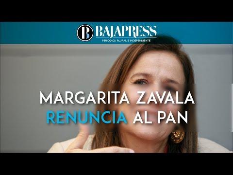 Líder del PAN afirma que salida de Margarita Zavala beneficia al PRI