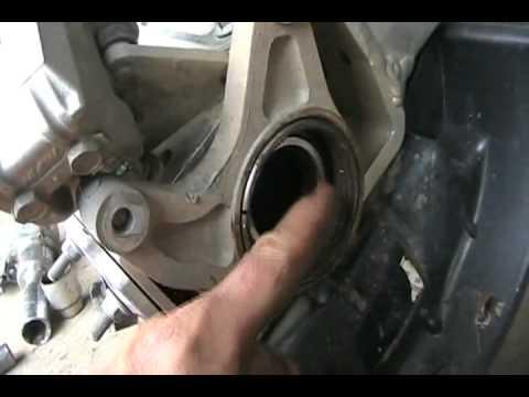 Suzuki Vinson Rear Brake Change