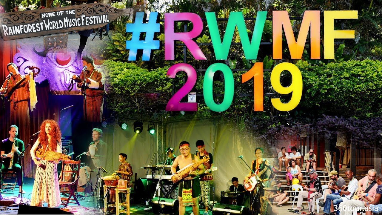 A Day Tour During Rainforest World Music Festival 2019 Youtube
