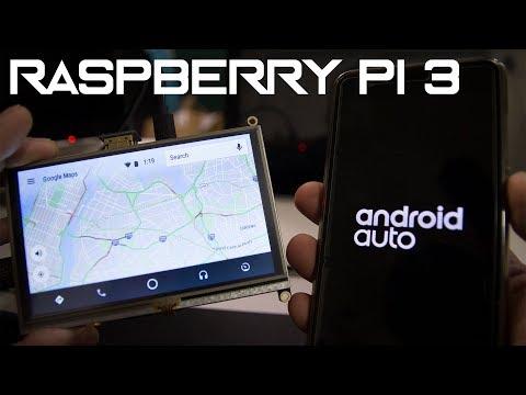 Android Auto on Raspberry Pi 3