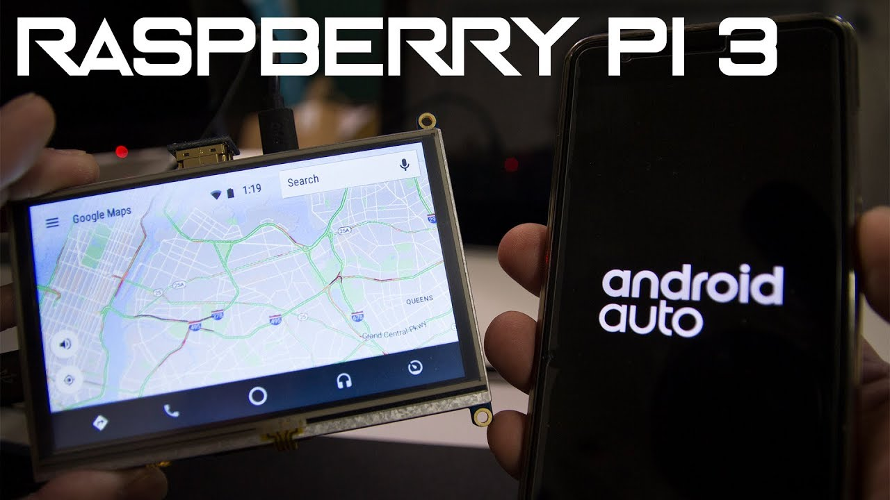 Android Auto on Raspberry Pi 3