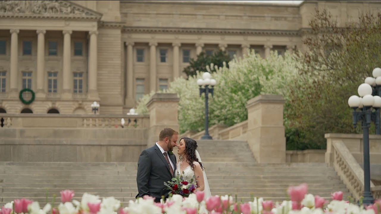 Emotional First Look | The Elizabeth Wedding | Frankfort Kentucky