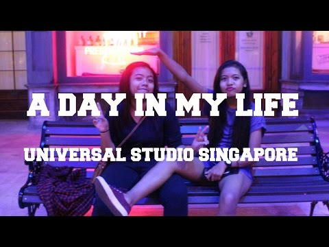 A Day In My Life Vlog (Universal Studio Singapore)