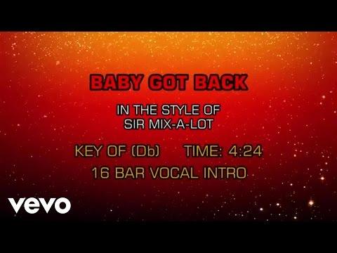 Sir Mix-A-Lot - Baby Got Back (Karaoke)
