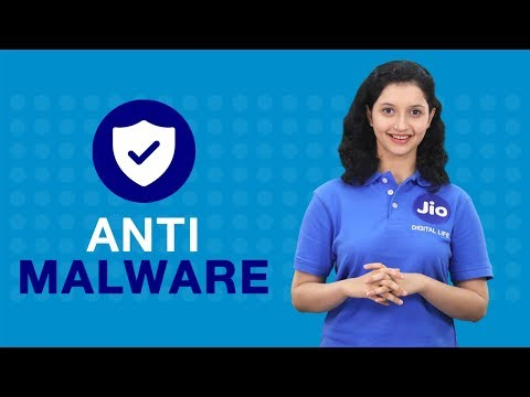 Jio Security - How to Scan your Device Using Anti-Malware Feature of Jio Security App | Reliance Jio
