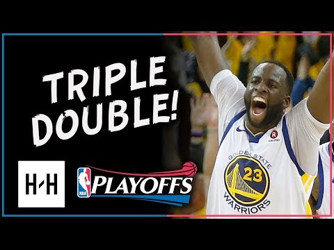 Draymond Green Full Game 1 Highlights vs Pelicans 2018 NBA Playoffs - 16 Pts, 15 Reb, 11 Ast!