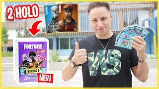 2 HOLO CARDS in a Box 😱 Fortnite Booster Pack opening