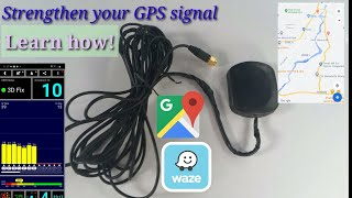 GPS antenna. Strengthen your GPS signal for an accurate location on maps. screenshot 5