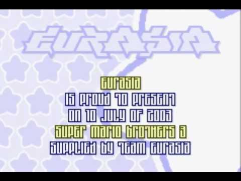 EURASIA GBA Cracktro / Crack Intro for Super Mario Advance  4