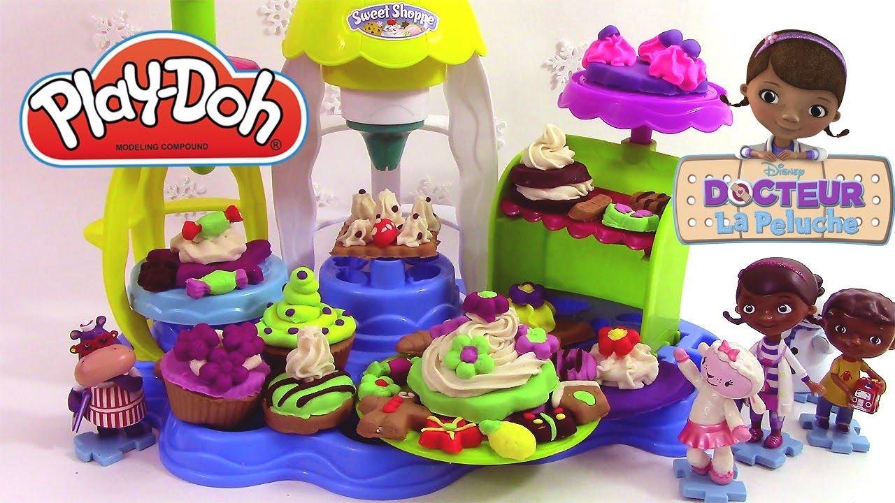 Pâte à Modeler Cupcakes Et Glaçages Gourmands Doc La Peluche Play